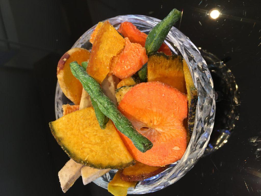 Grøntsager chips